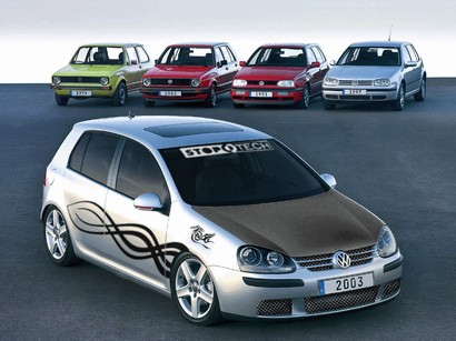 Virtual tuning - Volkswagen Golf.