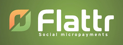 Flattr - Social micropayments.