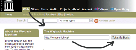 Wayback Machine.